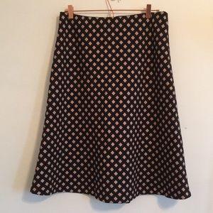 NWT Ann Taylor Midi Skirt
